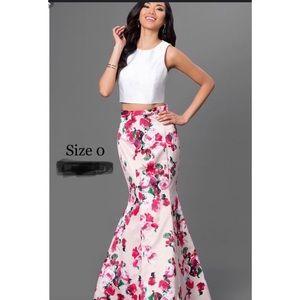 Sherri Hill Two piece Size 0